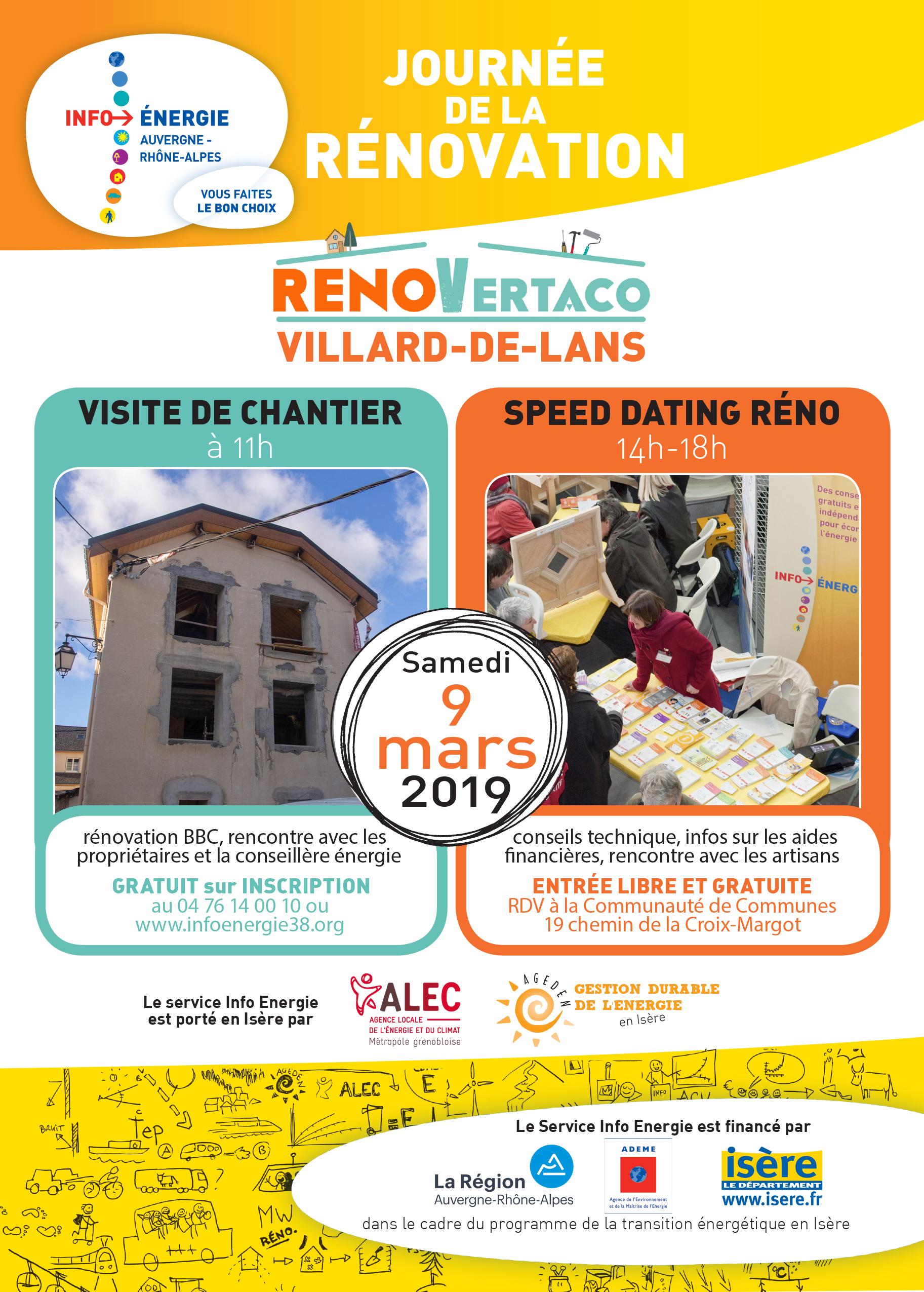 Journée de la rénovation Vercors