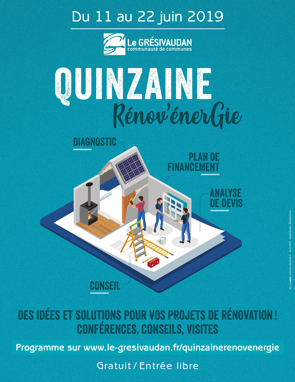 Quinzaine Rénov'Energie en Grésivaudan du 11 au 22 juin 2019