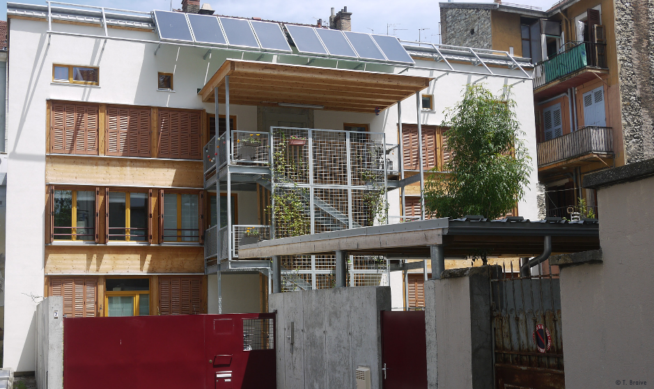 Visite Habitat groupé «DOMICILAMI» – Grenoble