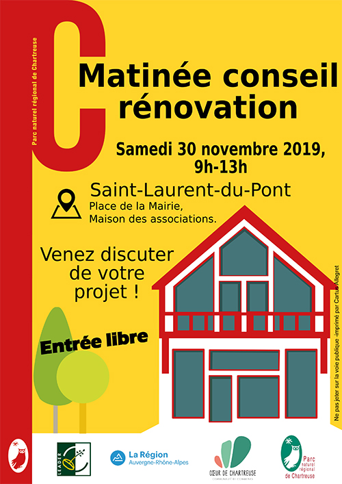 Matinée Conseil Rénovation à Saint-Laurent-du-Pont