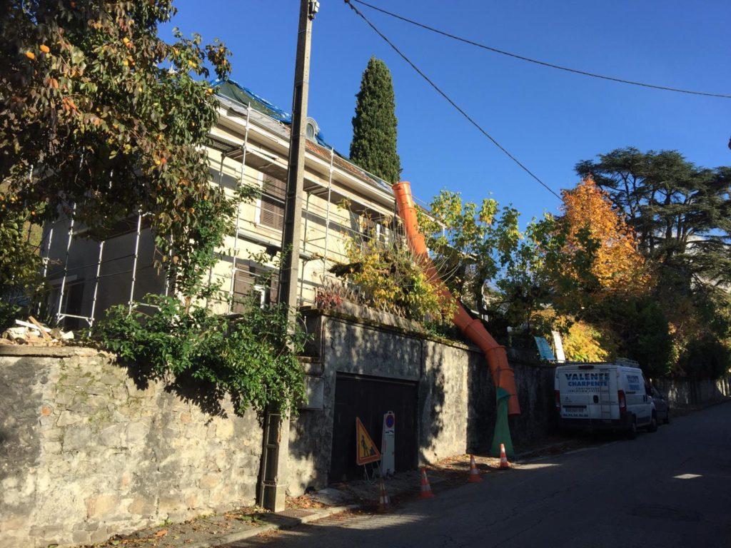 Atelier-témoignage rénovation d'une maison à la Tronche