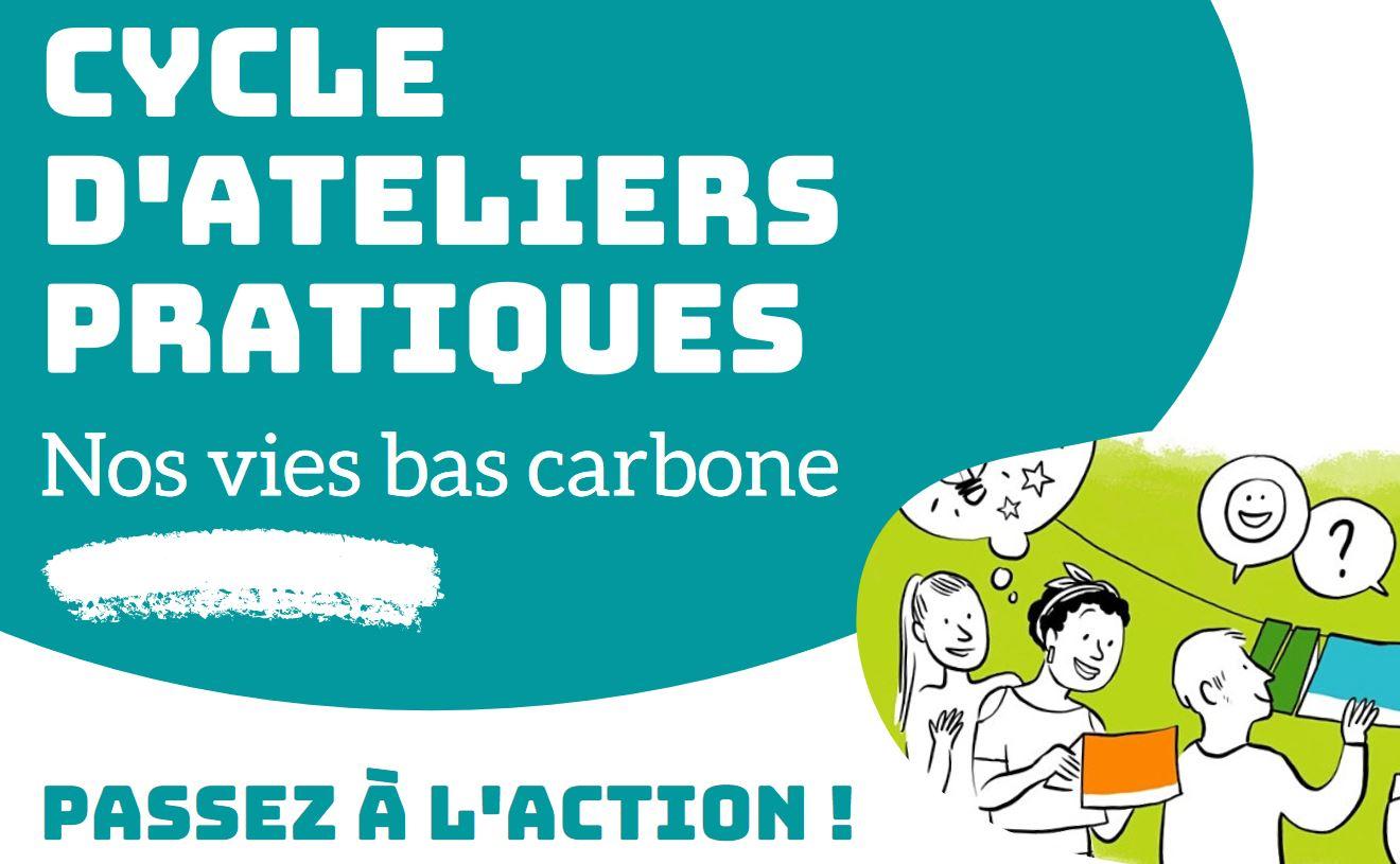 Ateliers pratiques «Nos vies bas carbone» à Seyssinet-Pariset
