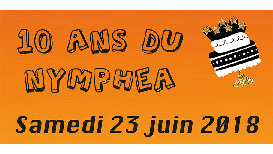 Les 10 ans du Nymphéa à Saint-Quentin-Fallavier