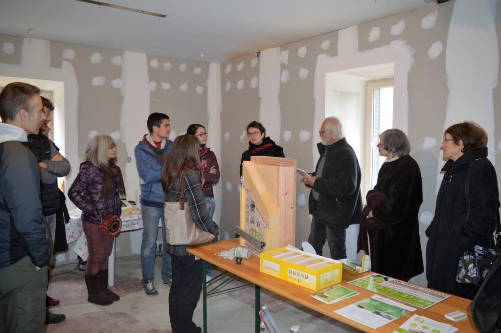 Visite d'une maison en rénovation à La Tour-du-Pin