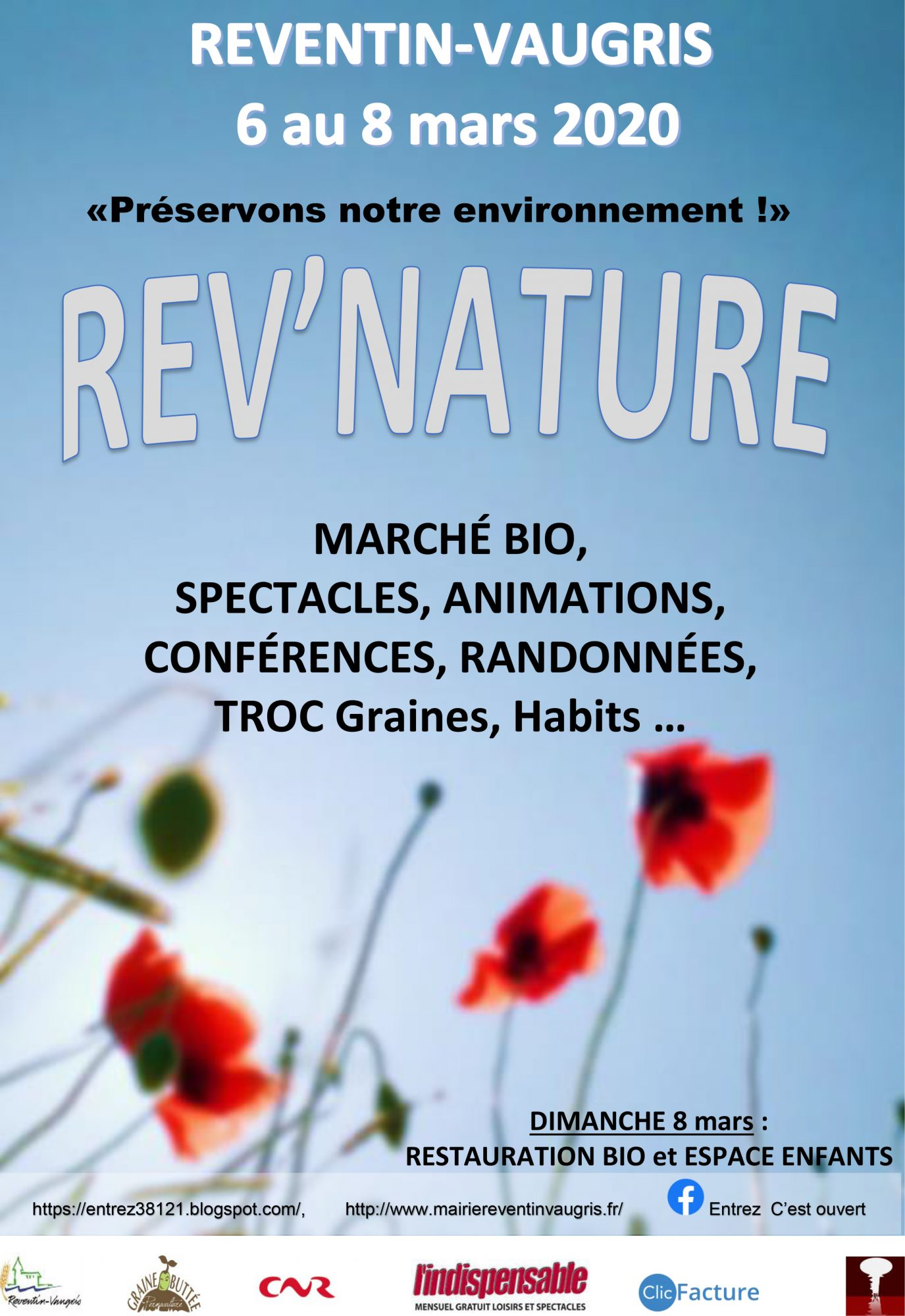 REV'Nature – « Préservons notre environnement » à Reventin-Vaugris