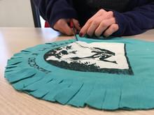 Atelier Créa-récup à partir de vieux tee-shirts à Saint-Martin-d'Hères