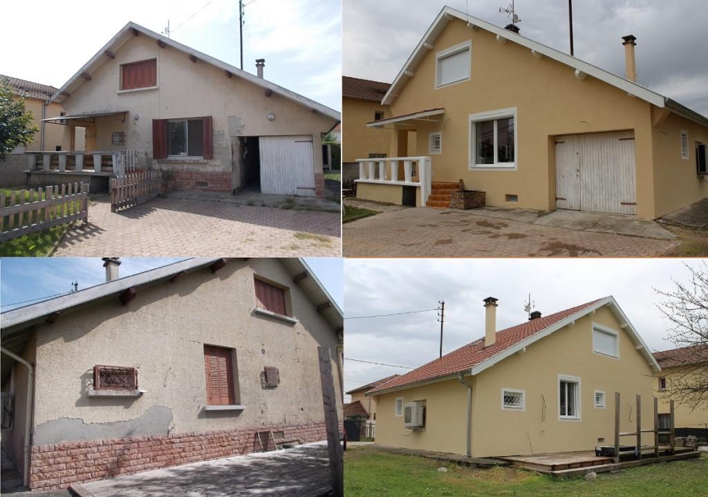 Visite d'une rénovation performante (maison années 50) à Bourgoin-Jallieu