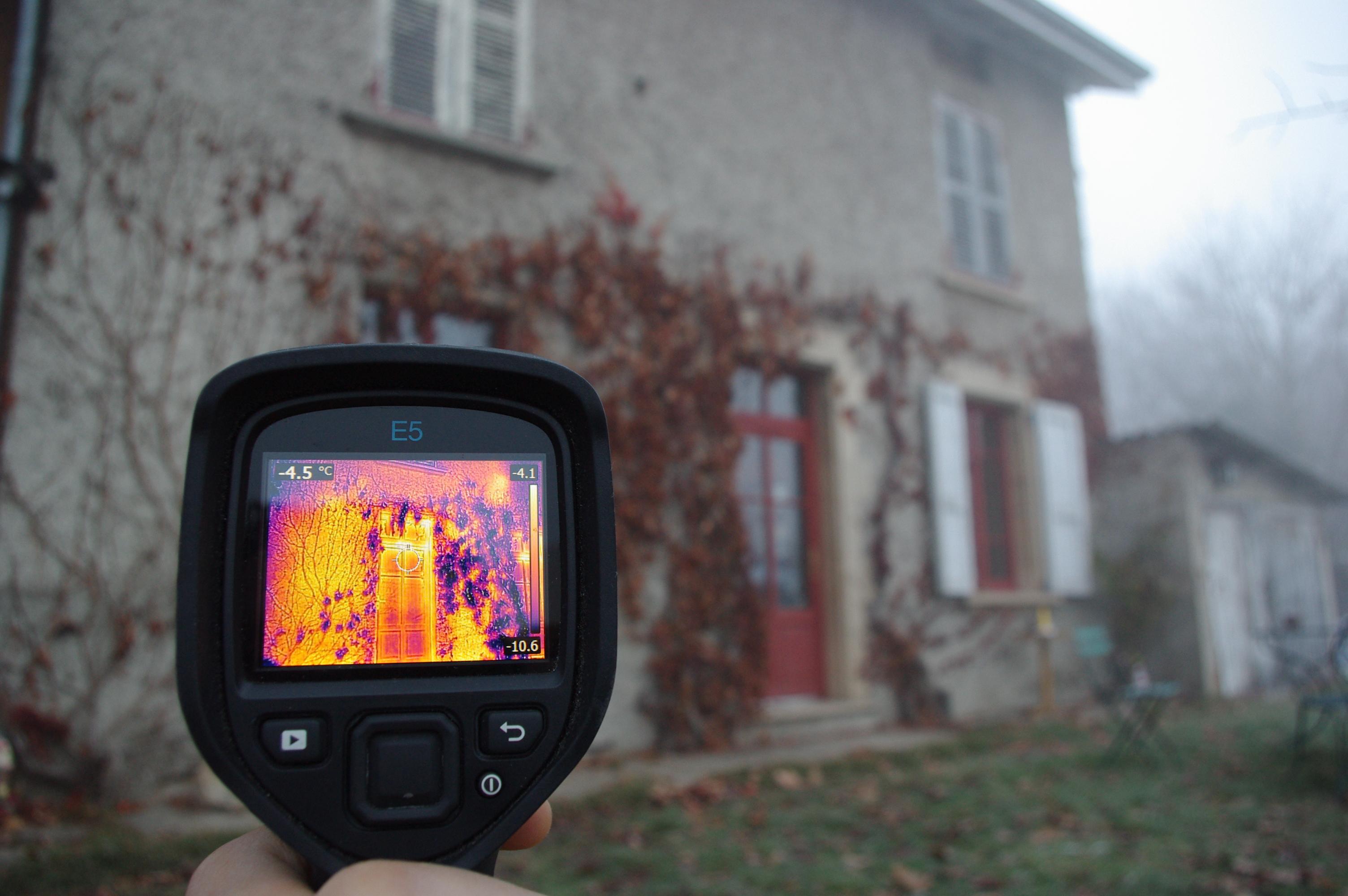 Soirée thermographique aux Abrets-en-Dauphiné